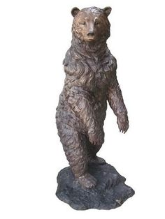 Surprising 26 Best Bear Statue Images In 2018 Bear Decor Cabin Homes Download Free Architecture Designs Scobabritishbridgeorg
