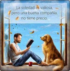 A Man Reading to a Golden Retriever I Love Books, Good Books, Books To Read, My Books, Amor Animal, Book People, World Of Books, I Love Reading, Reading Art