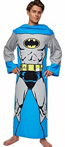 DC Comics Batman Muscle Print Adult Lounger Fleece Sleeve Blanket (One Size) Complete with airbrushed muscles you can be the Dark Knight in the comfort of your own front room...........A fantastic Gift Idea Comes Inside A Batman Printed BoxBat (Barcode EAN = 5055684296404) http://www.comparestoreprices.co.uk//dc-comics-batman-muscle-print-adult-lounger-fleece-sleeve-blanket-one-size-.asp