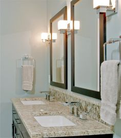 Backspash Contemporary Bathrooms, Modern Bathroom, Master Bathroom, Small Bathrooms, Contemporary Interior, Bathroom Images, Bathroom Ideas, Bathroom Designs, Bath Ideas