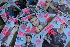 Superfan Haley's collection of One Direction covers!