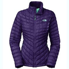 The North Face ThermoBall Full Zip Jacket  Womens Garnet Purple XSmall ** Read more reviews of the product by visiting the link on the image.(This is an Amazon affiliate link)