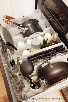 A good idea for a deep drawer
