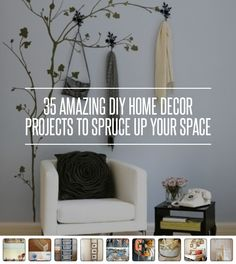 35 #Amazing DIY Home Decor #Projects to Spruce up Your #Space ...