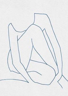 """Carla Cascales is an artist that lives in Barcelona. """"[I am] Cascales an independent artist and designer […], passionate about textures, minimalistic compositions, organic materials. Body Sketches, Simple Line Drawings, Figure Drawing Reference, Art Moderne, Life Drawing, Art Inspo, Line Art, Art Projects, Art Drawings"""