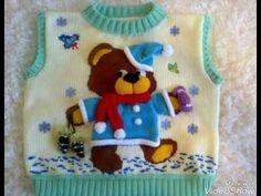 26 Ideas knitting patterns free sweater dress baby cardigan for 2019 Baby Boy Knitting Patterns, Knitting For Kids, Baby Knitting, Free Knitting, Diy Crafts Knitting, Diy Crafts Crochet, Knitting Projects, Crochet Kids Hats, Crochet For Boys