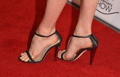 Amy Adams (Shoe Detail) attends the LA Art Show 2015 Opening Night Premiere Party at Los Angeles Convention Center on January 14, 2015 in Los Angeles,