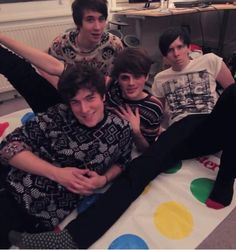 The awesome foursome (kickthepj, crabsticks, danisnotonfire and amazingphil)