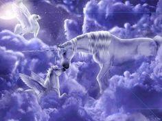 Unicorns and Pegasus Wallpaper