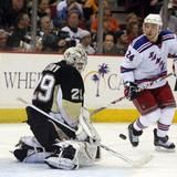 Despite a blow-out against the Habs....Marc-Andre Fleury Was Hell Bent On Getting In A Goalie Fight Tonight