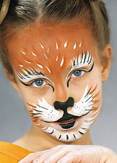 Grimas | Cat The Face, Face And Body, Full Face, Diy Face Paint, Lion Cat, Cat Makeup, Cat Costumes, Animal Faces, Holidays With Kids