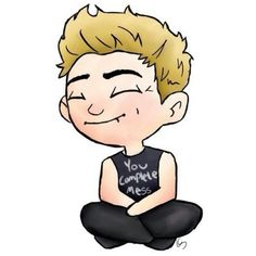 Luke Hemmings 5SOS ❤ liked on Polyvore featuring 5sos, fillers, 5 seconds of summer, luke hemmings, drawings, backgrounds, text, phrase, quotes and saying