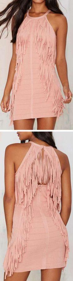 Bandit Fringe Dress ❤︎