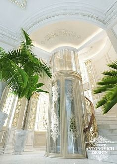 Design of a modern palace Mansion Interior, Dream House Interior, Luxury Homes Dream Houses, Luxury Homes Interior, Home Interior Design, Dream Homes, Classic House Design, Dream Home Design, Elevator Design
