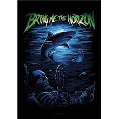Bring Me The Horizon Ocean Cemetery Fabric Poster Flag