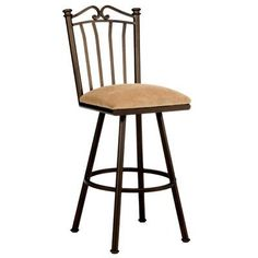 "Callee Sunset 30"" Swivel Bar Stool Upholstery: Ford Dune, Frame Finish: Matte Black"