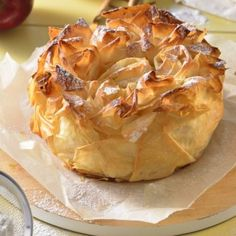 azúcar refinada Great Value® Apple Recipes, Sweet Recipes, Cake Recipes, Dessert Recipes, Phyllo Recipes, Apple Deserts, Fruit And Vegetable Carving, Bread Cake, Food Decoration