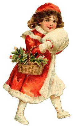 vintage Christmas free printable