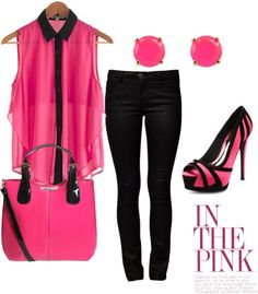 """""""In The Pink!"""" by jmaus88 on Polyvore"""