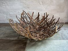 Contemporary Basketry: Gathered Materials/Dorte Tilma - nettles