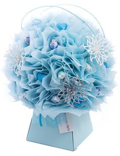 Love handmade gifts? Love chocolate? Love wintry mornings? . . . Then you will love this Frosty Morning Chocolate Bouquet by The Chocolate Florist! Visit www.thechocolateflorist.co.uk to find out more about us.