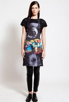 Prepare your dinner with style by wearing this amazing apron by Postfolk Home Accessories, Sequin Skirt, Aprons, Stylish, How To Wear, Inspiration, Dinner, Collection, Color