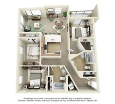 Studio, 1, 2 and 3 Bedroom Apartments in Los Angeles