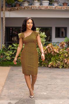 Next Previous African Print Midi Dress- Asymmetric Neckline – Ankara Print – African Dress – Handmade – Africa Clo Next Previous African Fashion Designers, African Print Fashion, Africa Fashion, Fashion Prints, African Print Dresses, African Fashion Dresses, African Dress, Ankara Fashion, African Prints