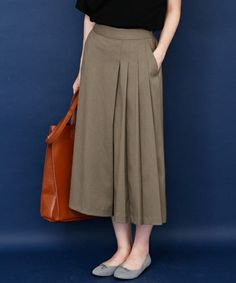 Modest Dresses Casual, Casual Skirt Outfits, Simple Outfits, Stylish Outfits, Casual Skirts, Muslim Fashion, Hijab Fashion, Fashion Dresses, Long Skirt Fashion