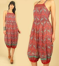 Rare ViNtAgE DEADSTOCK 70's OPEN Back Indian by hellhoundvintage