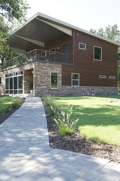 this Tulsa, OK couple built a 2500 sq ft house from 5 shipping containers - amazing