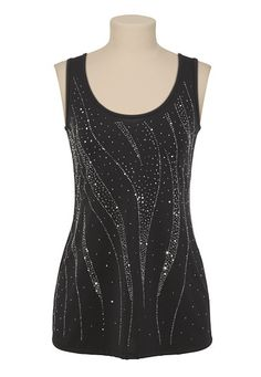 Bead and Sequin Tank