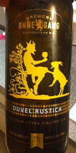 Ommegang Duvel Rustica/Brewery Ommegang  (Cooperstown, New York, United States)      Belgian Strong Pale Ale | 9% ABV    88 (good) as of 02-17-2013