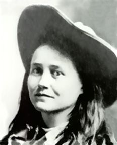 Belle Starr (The Bandit Queen) (Myra Belle Shirley Reed Starr February 5, 1848-February 3, 1889) Rustling, horse stealing, bootlegging whiskey; cause of death shot from ambush    When I was a little girl, we played cowboys and Indians with all the neighborhood kids;  all the girls wanted to be Belle Star...maybe because there weren't too many female outlaws............