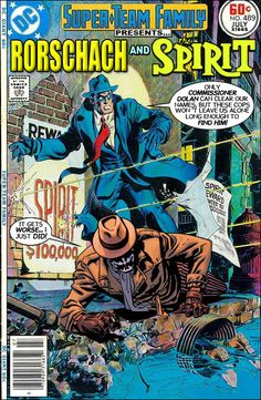 Super-Team Family: The Lost Issues!: Rorschach and The Spirit