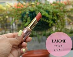 Lakme 9 to 5 Creaseless Creme Lipstick Coral Craft