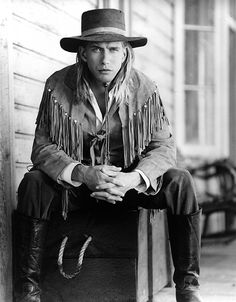 The Young Riders Cast, Stephen Baldwin, hat, powerful face, intense eyes, hands, great tv, portrait, photo b/w.