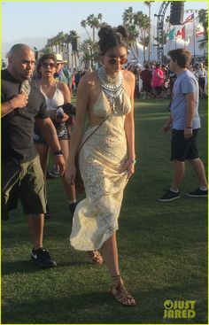 Kendall & Kylie Jenner Stop by the First Day of Coachella