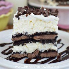 Coconut Oreo Icebox Cake