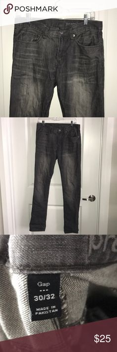 Gap Men's Grey Jeans Good condition GAP Jeans Slim