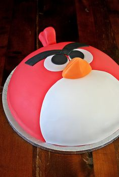 Angry birds cake :-)