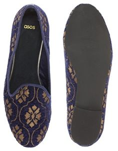 ASOS LEO Slippers with Tappestry Detail  $62.67