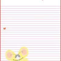 Butterfly Stationary -  lots of free printable stationary, worksheets, activities, and paper crafts