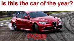 Is the alfa romeo giulia Quadrifoglio the car of the year? #alfaromeogiulia #cars #enzari #italiancars #autoitaliane #alfaromeogiuliaquadrifoglio #caroftheyear