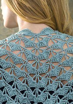 Ravelry: Zen Jacket pattern by Doris Chan Crochet Coat, Crochet Jacket, Crochet Cardigan, Love Crochet, Crochet Scarves, Crochet Shawl, Crochet Clothes, Crochet Stitches, Stitch Patterns