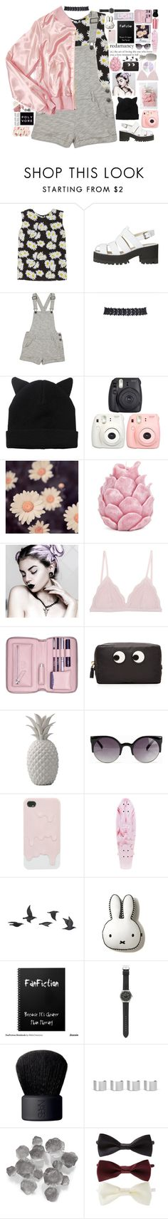 """""""HAPPY BIRTHDAY AGNE!"""" by mysecretismine ❤ liked on Polyvore featuring Equipment, Forever 21, Monki, Zara Home, Cosabella, Lili Radu, Anya Hindmarch, Bloomingville, NLY Accessories and Jayson Home"""