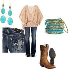 Rodeo Outfit, created by jessicawilson5 on Polyvore