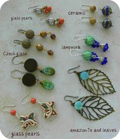 5th Bead Soup Blog Party @Cyndi McCurdy these reminded me of you!