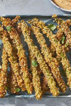 Fried Asparagus Recipe In 2020 Asparagus Fries Food Recipes Asparagus Fries, How To Cook Asparagus, Fresh Asparagus, Asparagus Recipe, Egg Recipes, Side Dish Recipes, Pasta Recipes, Cooking Recipes, Side Dishes