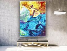 Handmade Wall Art Paintings Acrylic painting canvas image 2 Large Canvas Wall Art, Extra Large Wall Art, Black Canvas, Large Painting, Acrylic Painting Canvas, Gold Painted Walls, Colorful Artwork, Original Paintings, Art Paintings